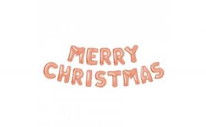 """Balon de Craciun Merry Christmas"""" -"""