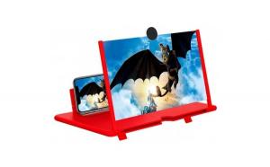 Ecran lupa 3D HD telefon (rosu)