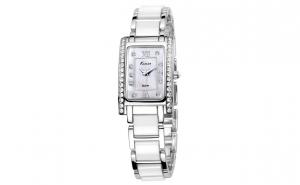 Ceas dama Kimio TG021 argintiu alb