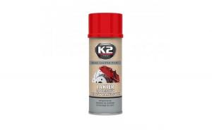Vopsea spray etrier rosu 400 ml, K2