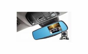 "Camera Auto, Oglinda Fata/Spate, Dual Lens, Display 4.3"", Full HD 1080P"