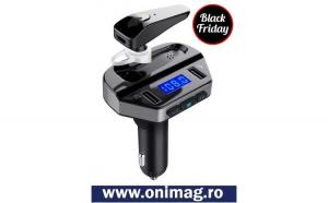 Modulator FM MP3 Player + handsfree cu
