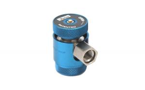 Cupla rapida albastru presiune joasa LP Parker R1234yf  14x1,5  sistem climatizare aer conditionat Magneti Marelli