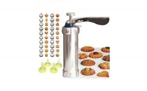 Presa pentru biscuiti Grunberg GR10714, Inox
