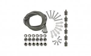 Kit suspendare 6 fire panou led