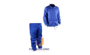 Costum Albastru Haina si Pantalon Simplu