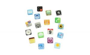 Set 18 magneti frigider Iphone Design