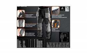 Pantalon de lucru NEO TOOLS 81-220 XXL/58