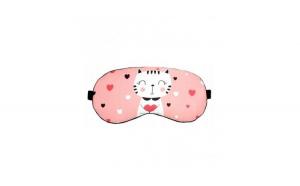 Masca de dormit din satin, model Kitty Love, Gonga