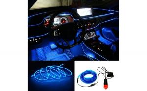 Banda LED Auto De Interior + Droser 12V, 2 Metri