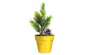 Brad artificial - mini- auriu - 20 cm