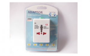 Adaptor priza international, la 24 RON in loc de 85 RON