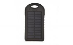 Baterie externa cu incarcare solara, Powerbank, ES500, 5000mAh