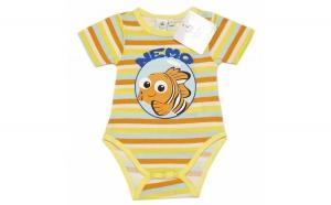 Body Nemo, galben, bebelusi, 86 cm, Haine pentru copii
