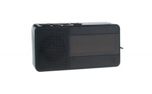 Radio Ceas Digital cu Alarma Happy Sheep CR-318, Functie Sleep, Snooze, AM, FM PLL, Negru