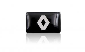 Embleme silicon Renault, set de 10 bucati