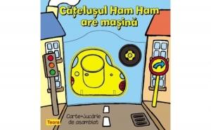 Catelusul Ham Ham are masina