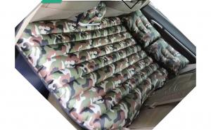 Saltea auto gonflabila 2 in 1 + POMPA, pentru bancheta masina si exterior, cu 2 perne incluse
