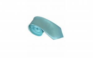 Cravata cu aspect matasos, ocean blue