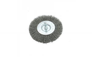 Perie de sarma circulara cu tija