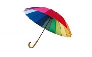 Umbrela Rainbow Sky, mare, curcubeu,