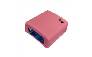 Lampa UV pentru uscarea unghiilor cu gel - 36W, Roz