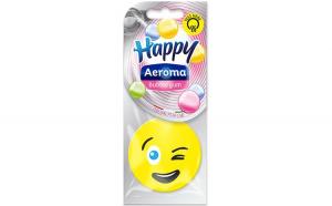 Odorizant Aeroma Masina, Happy, aroma Bubble Gum