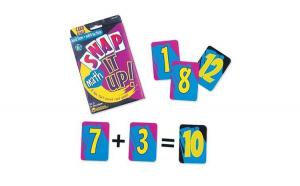 Invata adunarea si scaderea   Set carti de joc