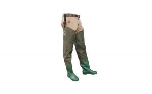 Cizme sold (soldare) Baracuda nylon/PVC, culoare verde, 42 EU
