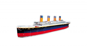 Puzzle 3D  model titanic  35 piese  45 x 13 x 6 cm