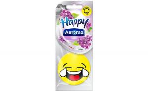 Odorizant Aeroma Masina, Happy, aroma de liliac