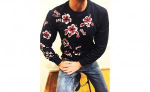 Bluza barbati Black Magnoly