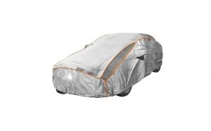 Prelata auto impermeabila cu protectie pentru grindina Volvo V70 Combi/Break - RoGroup, 3 straturi, gri