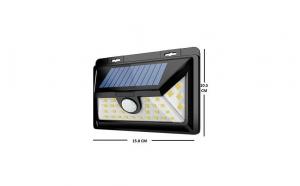 Lumina de perete cu inductie solara cu 50 de leduri cu senzor 1828B 1+1 Gratis