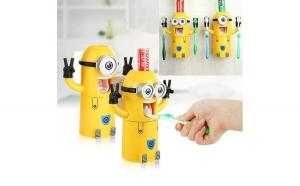 Dispenser pasta de dinti cu suport