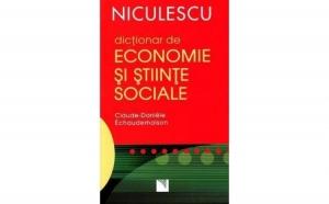 Dictionar de economie si stiinte sociale, autor Claude-Daniele Echaudemaison