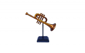 Statueta,  Instrument muzical, Trompeta,