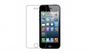 Folie sticla securizata Iphone 5/5S/SE, transparenta