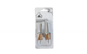 Set 2 Dopuri din Aluminiu si Pluta pentru Sticle de Vin, Model Premium cu Aerator, Inox, Original Deals