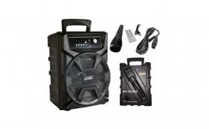 Boxa Portabila cu Bluetooth,Microfon,Radio FM,Afisaj Digital,Telecomanda