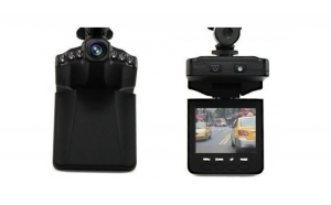 "Camera video auto HD Portable DVR, Ecran TFT LCD de 2,5 "", Neagra"