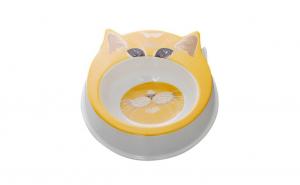 Castron din plastic pentru pisici