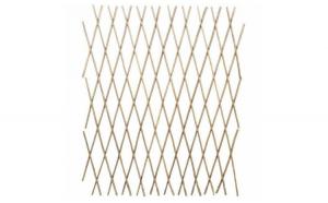 Gard delimitator armonica din lemn de salcie 90 x 180 cm