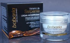 Babaria Crema Antirid cu Venin de Sarpe/ SYN-AKE 50ml (Crema de zi si noapte)