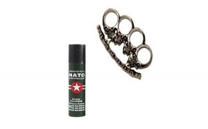Spray NATO 60 ml, cadou rozeta, craniu,