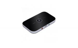 Transmitator si receptor Bluetooth, negru