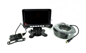 Kit monitor senzor parcare + camera marsarier turism/camion 12V-24V