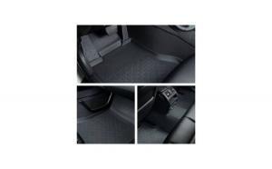 Covorase presuri cauciuc Premium stil tavita Audi A3 2012-2019