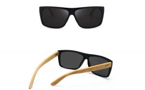 Ochelari de Soare (unisex) cu Rame Bambus si Protectie UV400