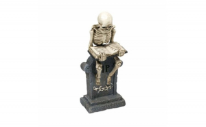 Statueta decorativa cu schelet Pufo,